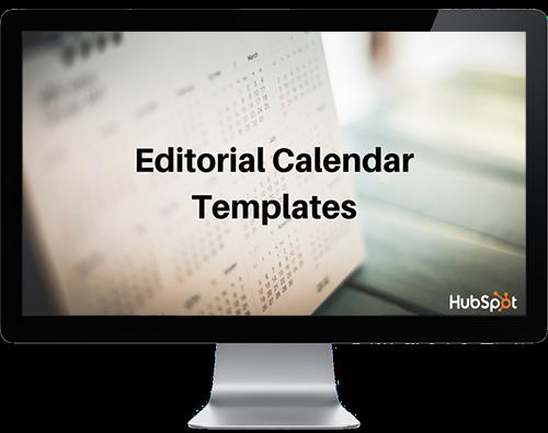 Mac向けのエディトリアル カレンダー テンプレート