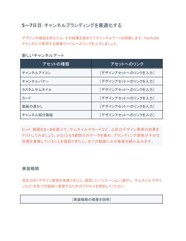ビジネス向けYouTube 活用テンプレート18種_06