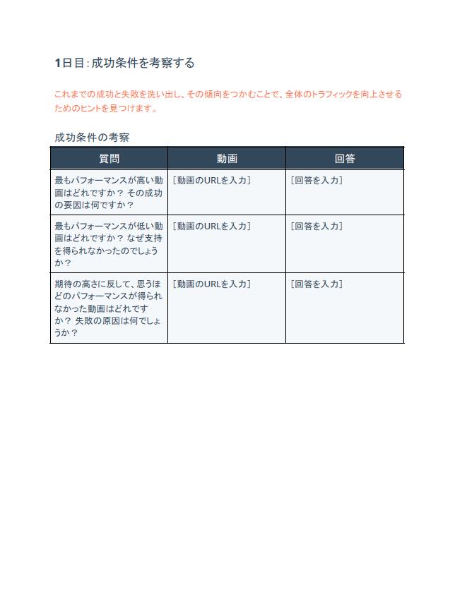 ビジネス向けYouTube 活用テンプレート18種_07