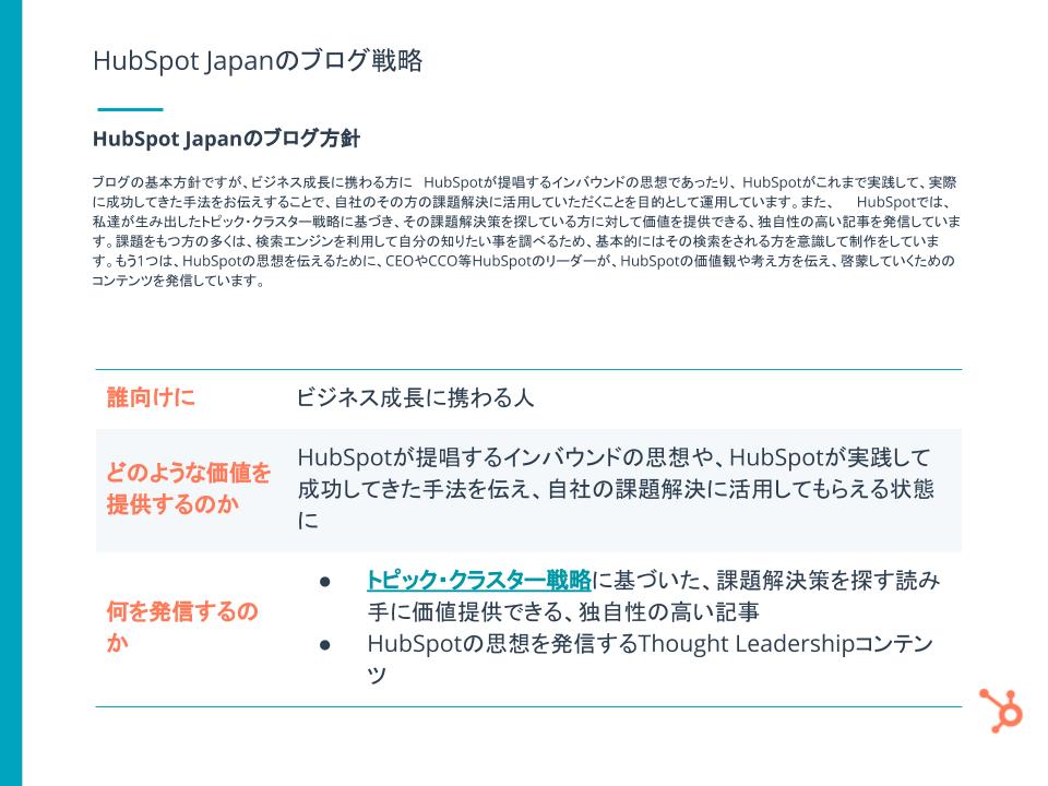 HubSpotブログ編集長が語る! 見込み客を惹きつける HubSpot Japanのブログ戦略とは_08